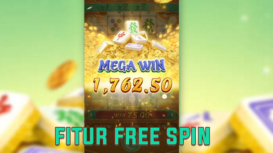 fitur free spin pg soft